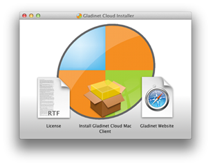 how to send a application to background on mac