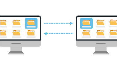 file sync diagram