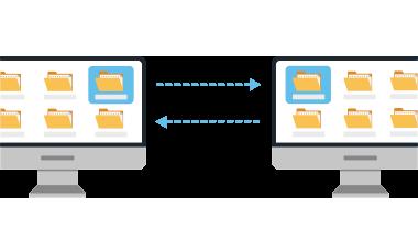 file synchronization diagram