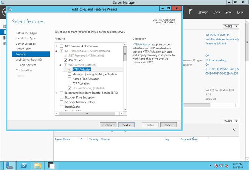 CentreStack (Gladinet Cloud Enterprise) on Windows Server 2012