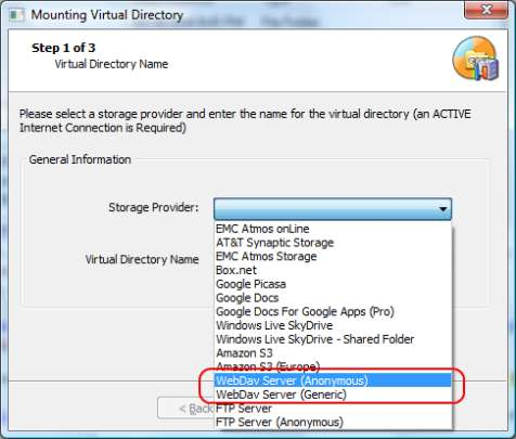 how to mount a virtual drive